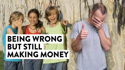 Cover art for Being Wrong BUT Still Making Money (Trading Strategy Tip)