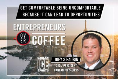 Cover art for Get Comfortable Being Uncomfortable Because it Can Lead To Opportunities!
