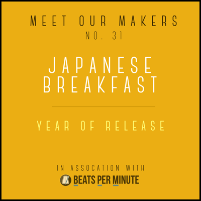 Cover art for 31. Japanese Breakfast - Year of Release