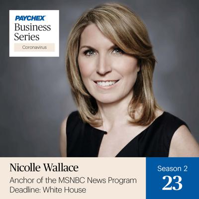 Cover art for Nicolle Wallace Talks Hope, Optimism, and Opportunity for Small Businesses