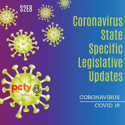 Cover art for State Specific Legislative Updates Related to Coronavirus