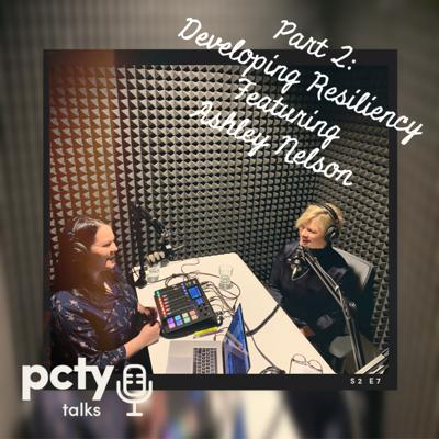 Cover art for Part 2: Developing Resiliency featuring Ashley Nelson from Inseus
