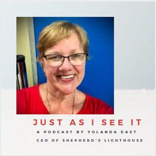 Cover art for An interview with Heather, our first resident at Shepherd's Lighthouse 19 years ago.
