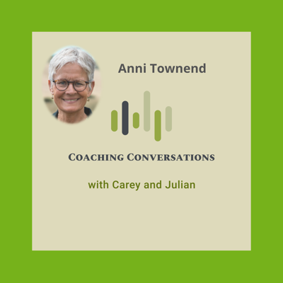 Cover art for Episode 50 with Anni Townend who is a Leadership Consultant and Executive Coach