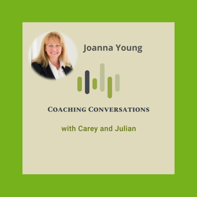 Cover art for Episode 49 with Joanna Young who is a coach and trainer