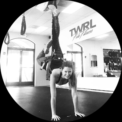Cover art for Episode 12: Babs Spano from Twrl Pole Fitness | Monster Marketing Podcast