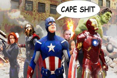 Cover art for Cape Sh!t Episode 8: