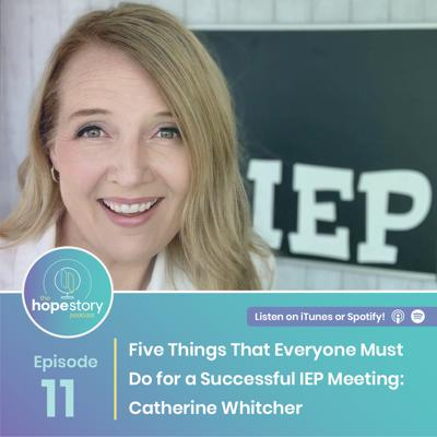 Cover art for Five Things That Everyone Must Do for a Successful IEP Meeting: Catherine Whitcher