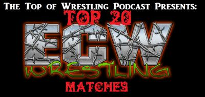 Cover art for Episode 21 - The Top 20 ECW Wrestling Matches