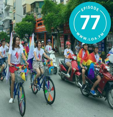 Cover art for Loa 77 - Hà Nội Pride; Motorcycle Diaries