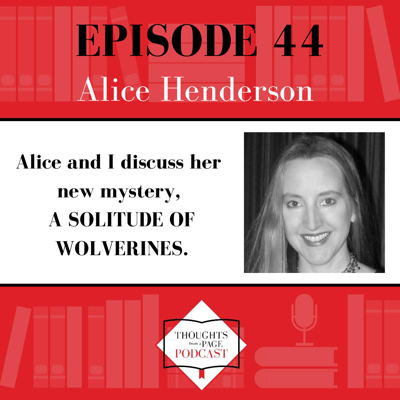 Cover art for Alice Henderson - A SOLITUDE OF WOLVERINES
