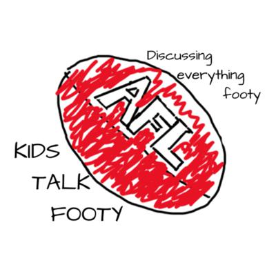 Cover art for Kids Talk Footy- Predictions, SuperCoach and more