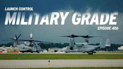 Cover art for Launch Control 406: Military Grade