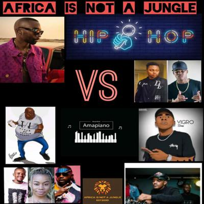 Cover art for Hip Hop VS Amapiano