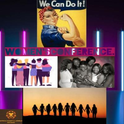 Cover art for Women's Conference
