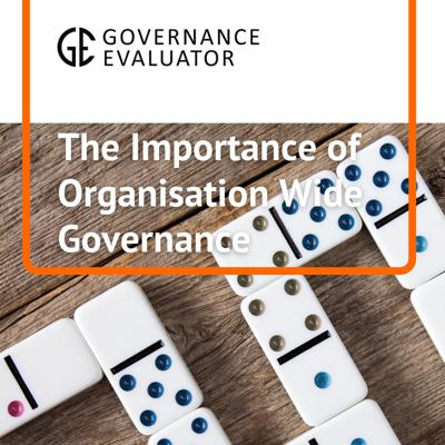 Cover art for The importance of Organisational Governance