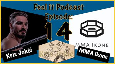 Cover art for Feel it Podcast #14 - MMA Ikone (UFC 254 Hype Show)