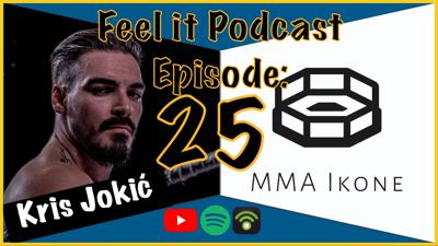 Cover art for Feel it Podcast #25 - MMA Ikone (UFC 258 Hype Show)