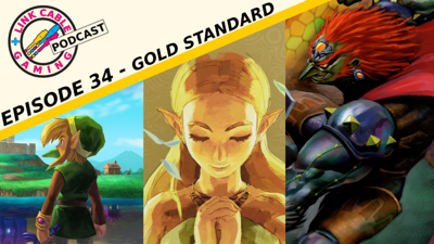 """Cover art for Link Cable Podcast Ep.34 - """"Gold Standard"""""""
