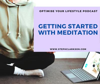 Cover art for Getting Started with Meditation