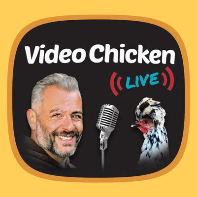 Cover art for Video Chicken Live (formerly Radio Chicken) Premiere: 2.12.2021