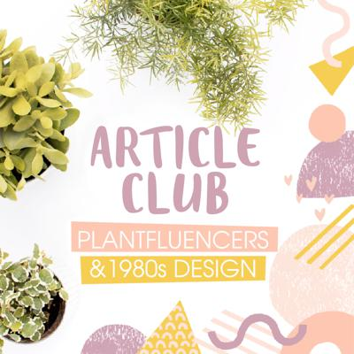 Cover art for ARTICLE CLUB