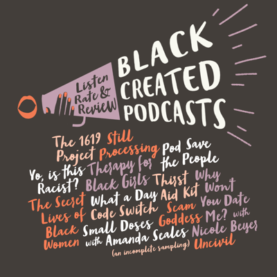 Cover art for BLACK CREATED PODCASTS