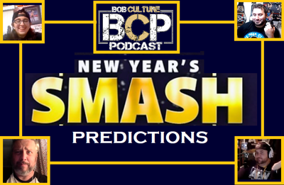 Cover art for AEW NEW YEARS SMASH PREDICTIONS PANEL