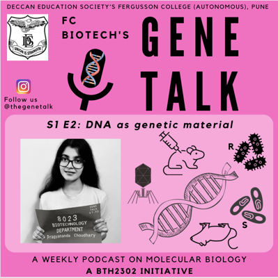 Cover art for Episode 2: DNA as genetic material