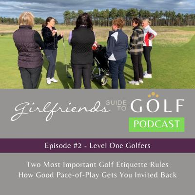 Cover art for Episode #2: Getting started, golf etiquette