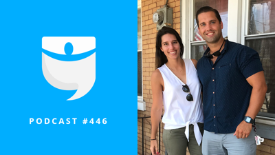 Cover art for BiggerPockets Podcast 446: Pivoting the Goal and Swapping Doors for Cashflow with Kyle and Lauren