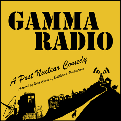 Madcap post-apocalyptic  radio style comedy. With inspiration from video games, pop-culture and sci-fi. Warning: Heavily irradiated.