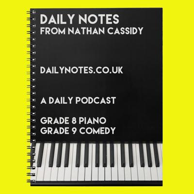 Daily Notes from Nathan Cassidy
