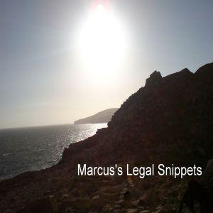 Marcus's Legal Snippets