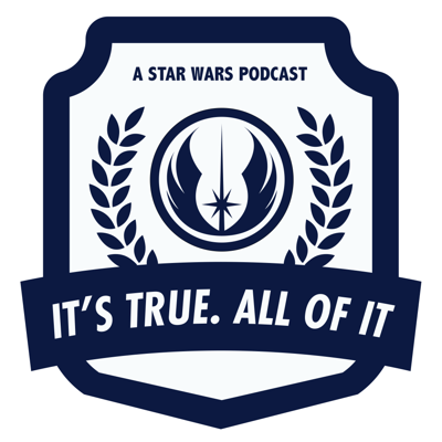 It's True. All  of it. A Star Wars Podcast. Hosts Michael Szabo and Dale Williams discuss all aspects of the Star Wars saga with members of the SW community, interview SW special guests and breakdown current events.