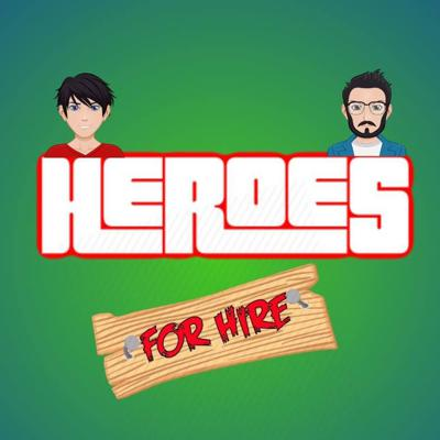 The Heroes for Hire podcast is a film, comics and entertainment based show hosted by 2 Irish feckers.