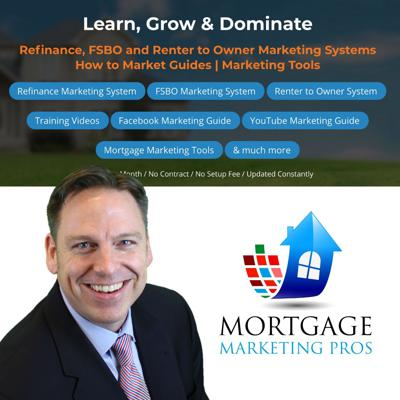 Marketing Platform for Mortgage Loan Officers to Learn, Grow and Dominate their local market to self generate leads directly from the consumer.