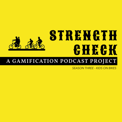 Strength Check is an Actual Play Dungeons & Dragons + Kids On Bikes RPG  podcast focused on innovative interdisciplinary pedagogical development, happening in (almost) real time and finding new ways to engage students and the public.