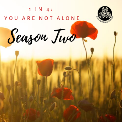 1 in 4: You Are Not Alone, a podcast sponsored by Oklahoma's non-profit Kids Joining Eternity and hosted by Jenna Vasquez (mother to Poppy Lynn Vasquez), provides honest, raw conversations for women, men, siblings, grandparents, friends, and anyone else who has personally been affected by infant loss.