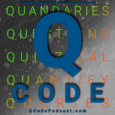 Three guys, three minds, three questions... Are you eager to scratch your curiosity itch? Listen to the Q Code Podcast and you'll find yourself immersed in questions you never knew you had!