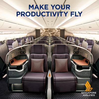 Singapore Airlines, the world's most awarded airline, brings together three experts in business aviation travel to discuss the increasingly important issue of productivity for business travellers.