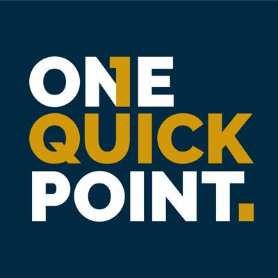 One Quick Point