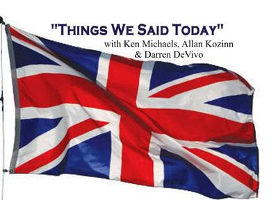 Great weekly discussion of the Beatles world by Beatles experts Allan Kozinn, Ken Michaels and Darren DeVivo. Send comments to thingswesaidtodayradioshow@gmail.com.