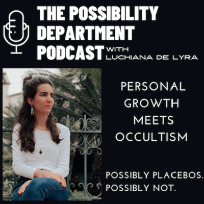 The Possibility Department Podcast is the place for seekers, occultists, spirituals and skeptics who are willing to entertain the Possibility of ANYTHING & EVERYTHING when it comes to the Great Unknown. Take what you like, toss what you don't - and get ready to embrace some wild possibilities.