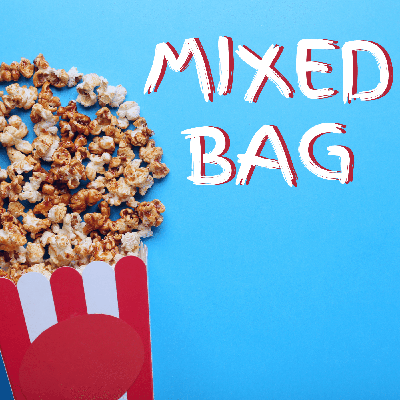 A podcast looking at the mixed, muddled and meh movies throughout film history. Featuring Matthew Loveranes, Cassandra Tse and James Cain. Contact us at mixedbagcontact@gmail.com