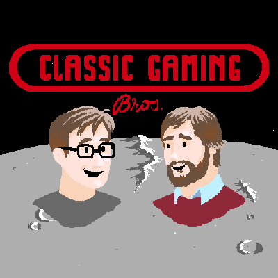 Two brothers creating a podcast about video games.