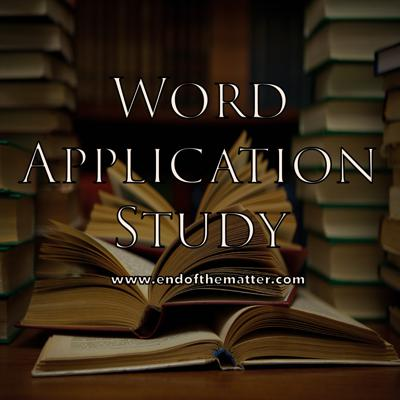 Word Application Study - Patrick Jacob