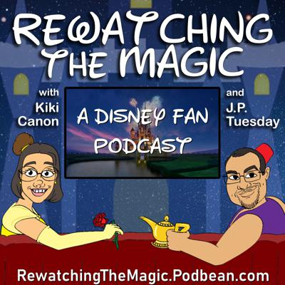 A  podcast where two childless, adult Disney fans rewatch the media that shaped their lives to see if the Magic lives on...