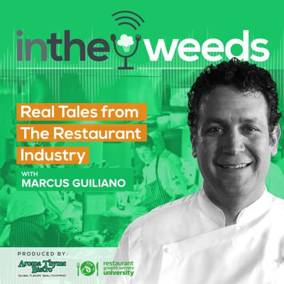 In The Weeds is a reality restaurant podcast that shares some real stories and challenges from the restaurant industry to uplift and encourage restaurant owners.