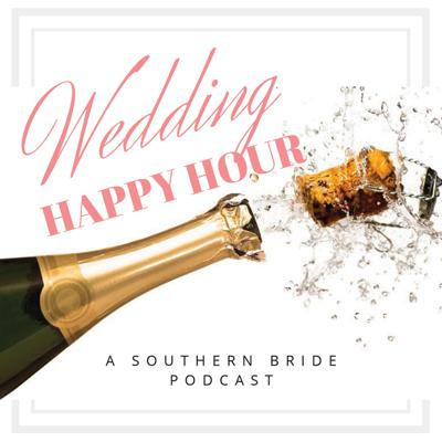 Anything goes during Wedding Happy Hour for anyone who's wedding obsessed or someone who just loves a great podcast. Cheers!